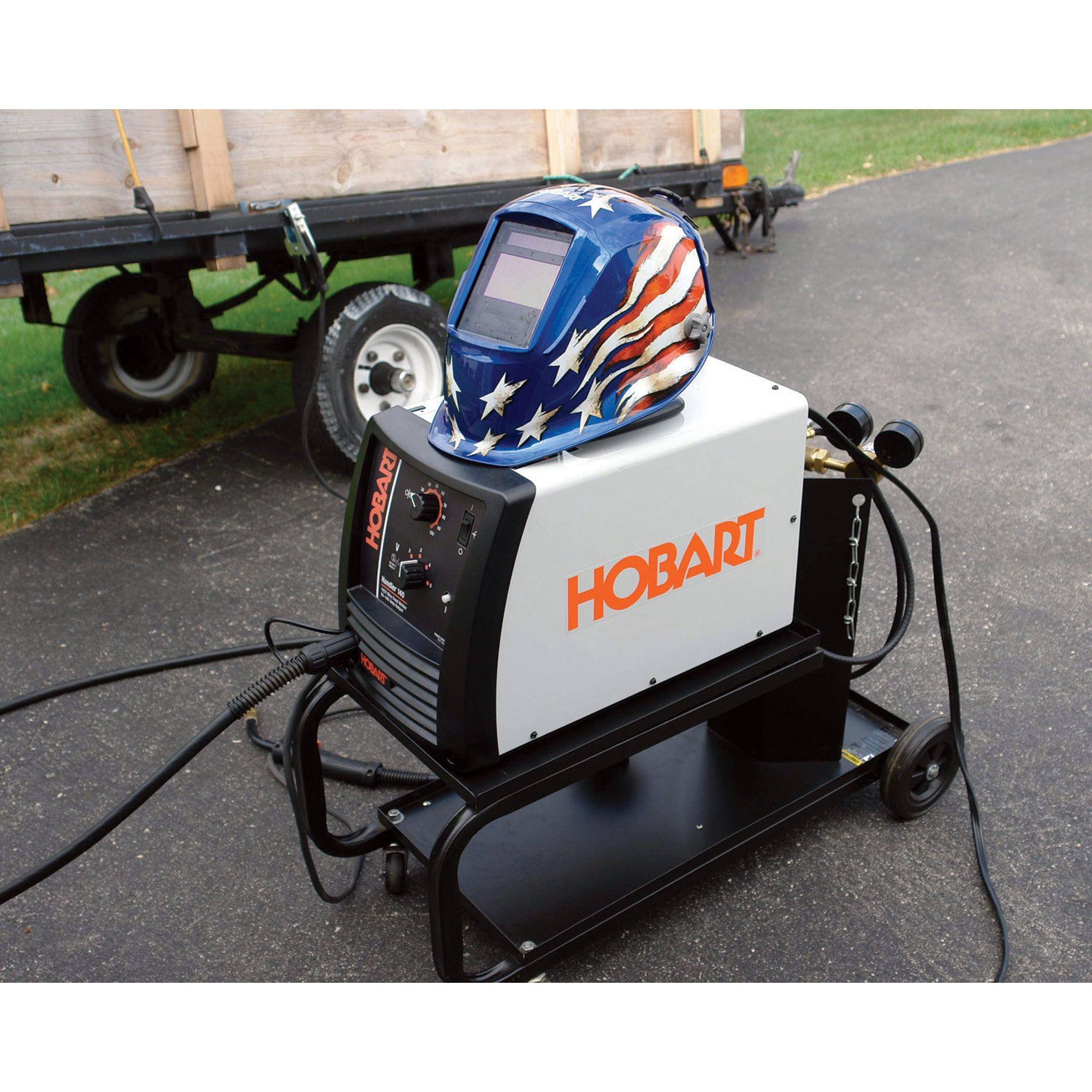 Hobart Handler 140 Flux-Core/MIG Welder — 115V, 140 Amp, Model ...
