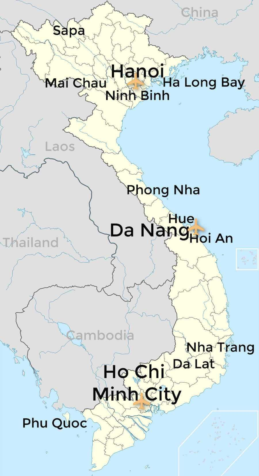 Suggested Vietnam Itinerary 10 Days 2 Weeks Or 1 Month In 2020 Vietnam Itinerary Itinerary Planning Vietnam