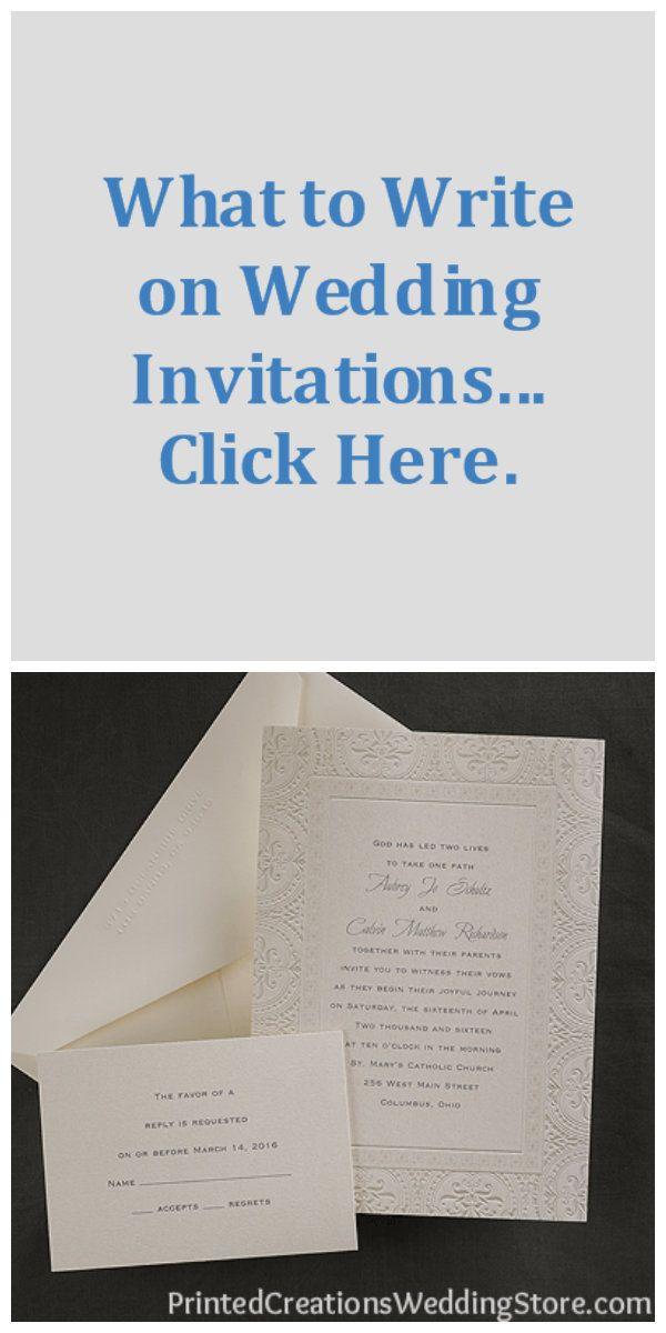 what to write on wedding invitations  pinterest  wedding
