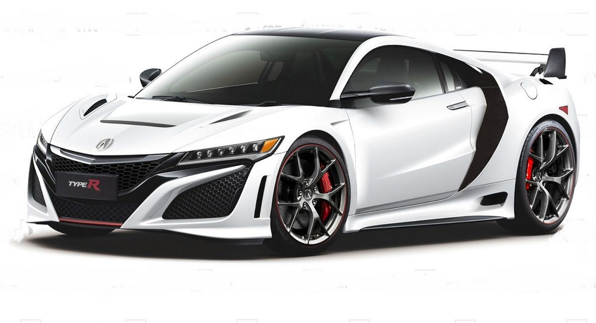 Acura NSX Type R First Look, New Renderings Available in