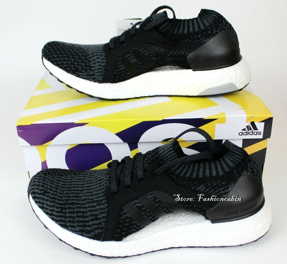 New ADIDAS Ultraboost X Running Shoes For Women- BB1696, Black