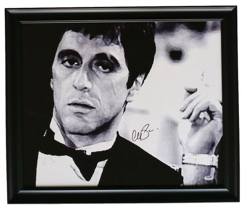Al Pacino Signed Framed 22x25 Scarface Canvas PSA 7A45947 | Products ...