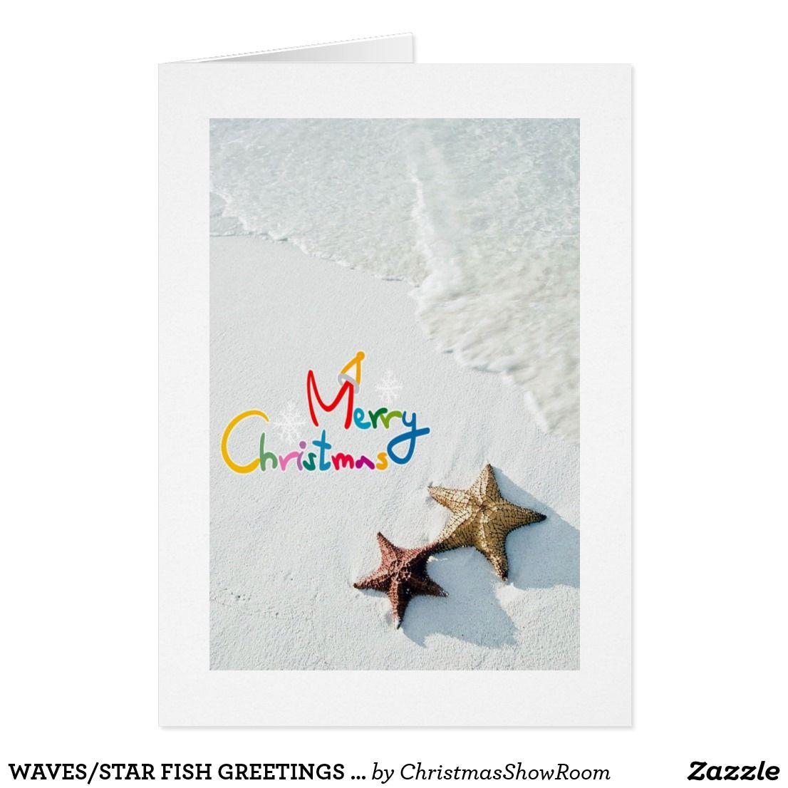 Wavesstar fish greetings at christmas across the miles christmas wavesstar fish greetings at christmas across the miles christmas card kristyandbryce Choice Image