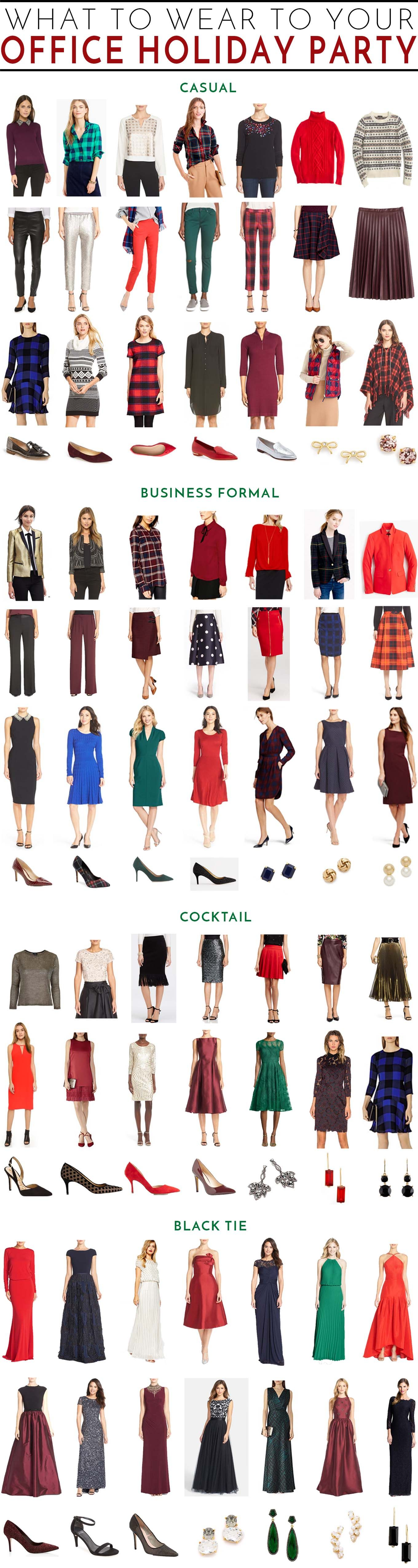 What to Wear to Your Work Holiday Party | Holiday party ...