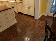 vinyl flooring that looks like brick ceilings floors stairs pinterest bricks kitchens. Black Bedroom Furniture Sets. Home Design Ideas