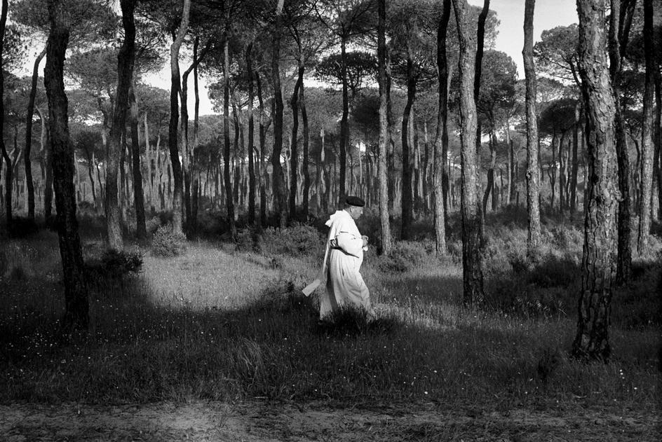© Josef Koudelka/Magnum Photos SPAIN. Andalucia. Huelva province. Rocio Pilgrimage. 1975.