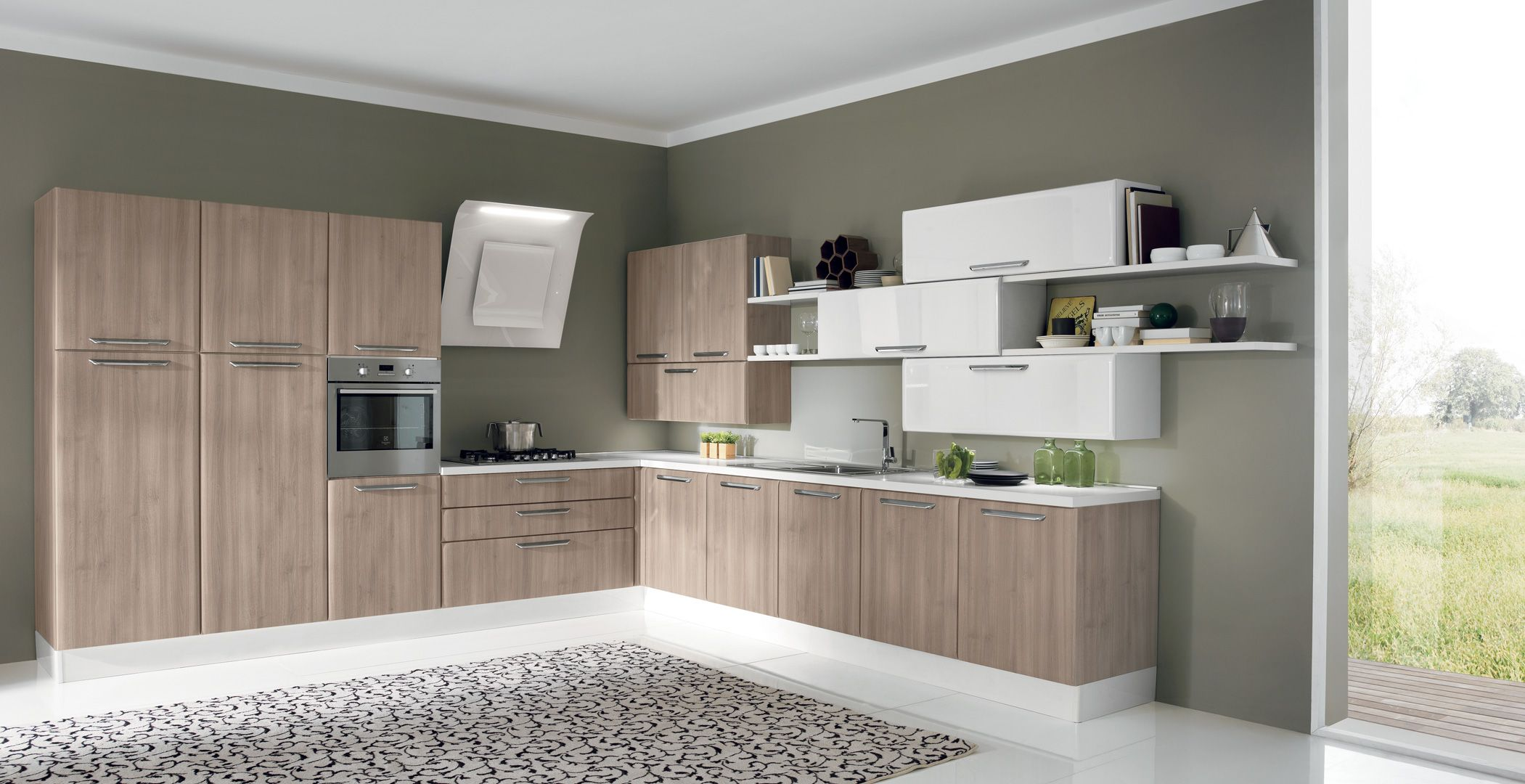 The Tidra Collection Aran Italian Kitchens Contemporary Style Kitchen Italian Kitchen Cabinets Kitchen Styling