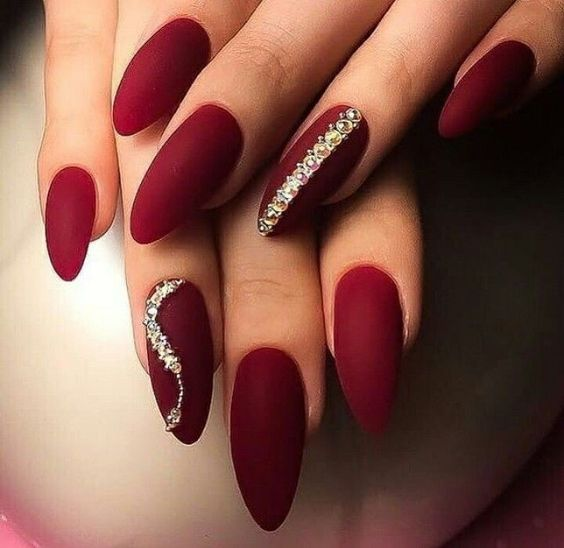 New Year Red Nail Styles To Inspire You 2020 Angel Nails Nail