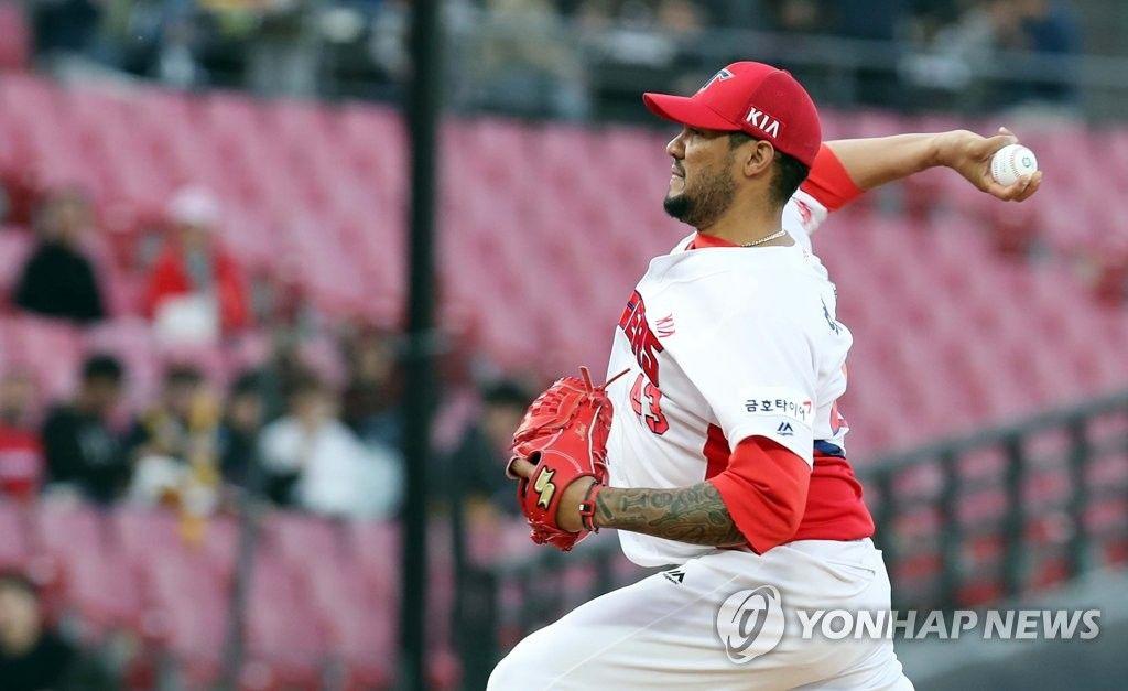 \'헥터 시즌 9연승\' KIA, 한화 꺾고 3연승 [토토군뉴스]