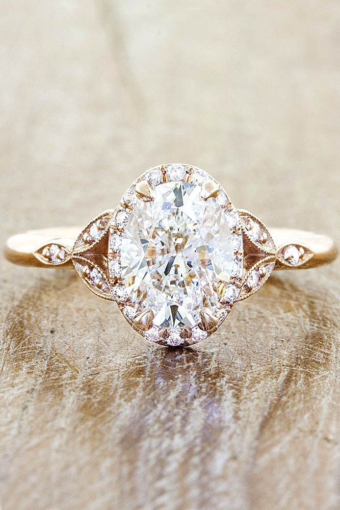 204970910e09 18 Vintage Engagement Rings With Stunning Details ❤ See more  http   www