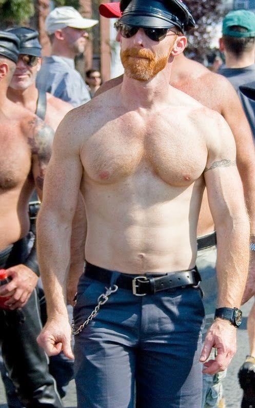 Ginger gay men