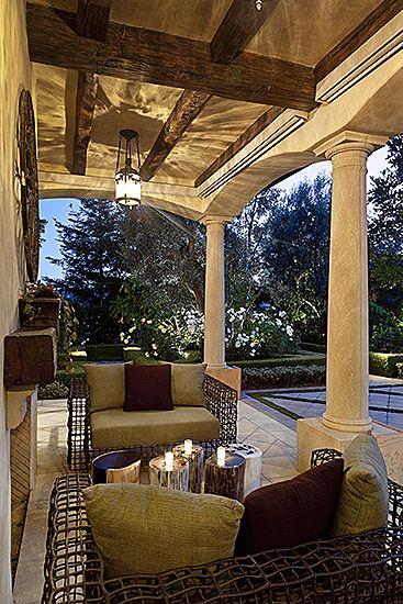 Beautiful back porch design ideas by Bel Air Designs