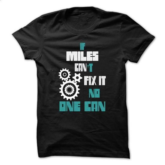 MILES Mechanic - 999 Cool Name Shirt ! - #teestars #women hoodies. PURCHASE NOW => https://www.sunfrog.com/Outdoor/MILES-Mechanic--999-Cool-Name-Shirt-.html?id=60505