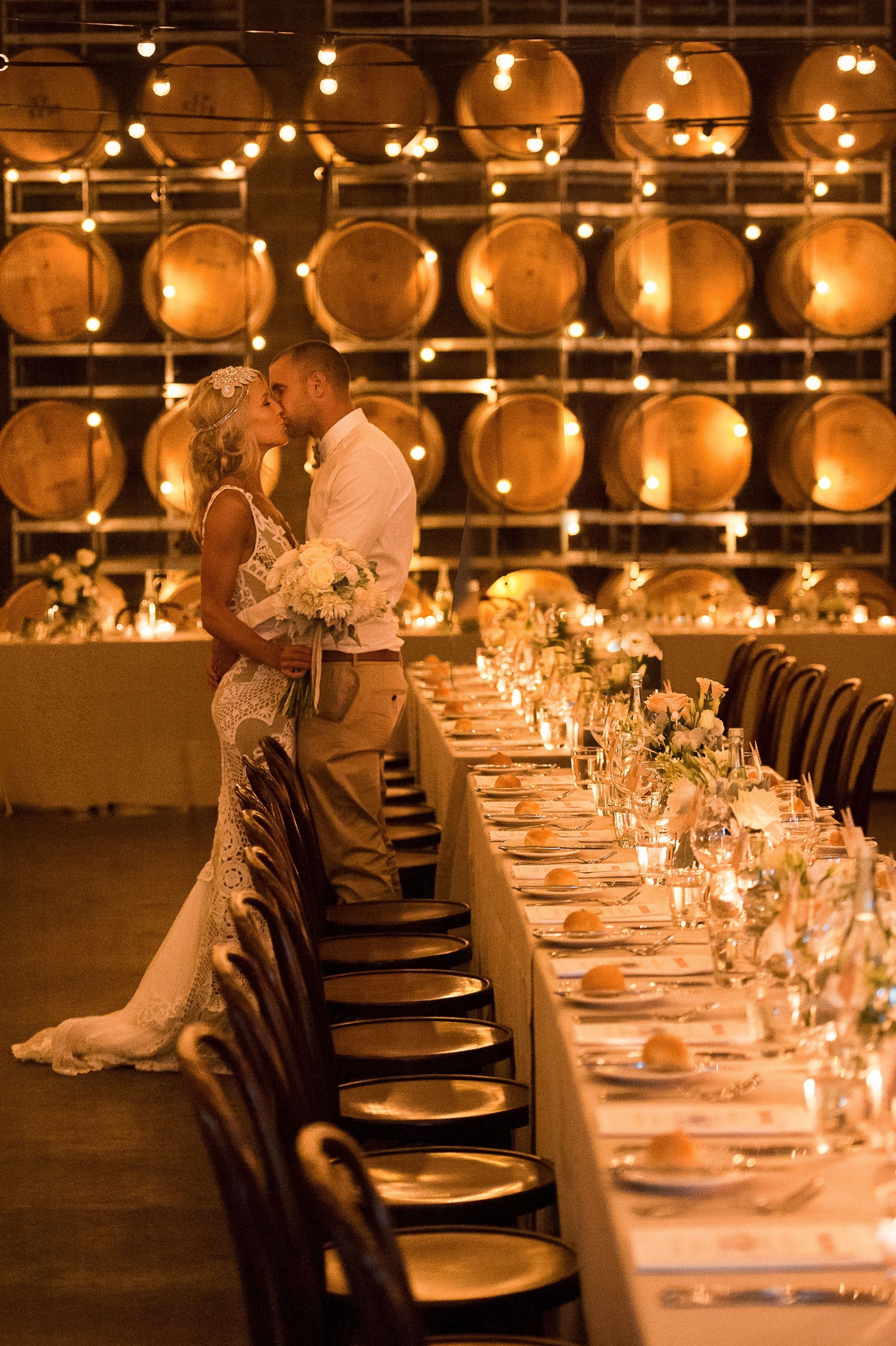 NonTraditional Melbourne Winery Wedding Wedding venues