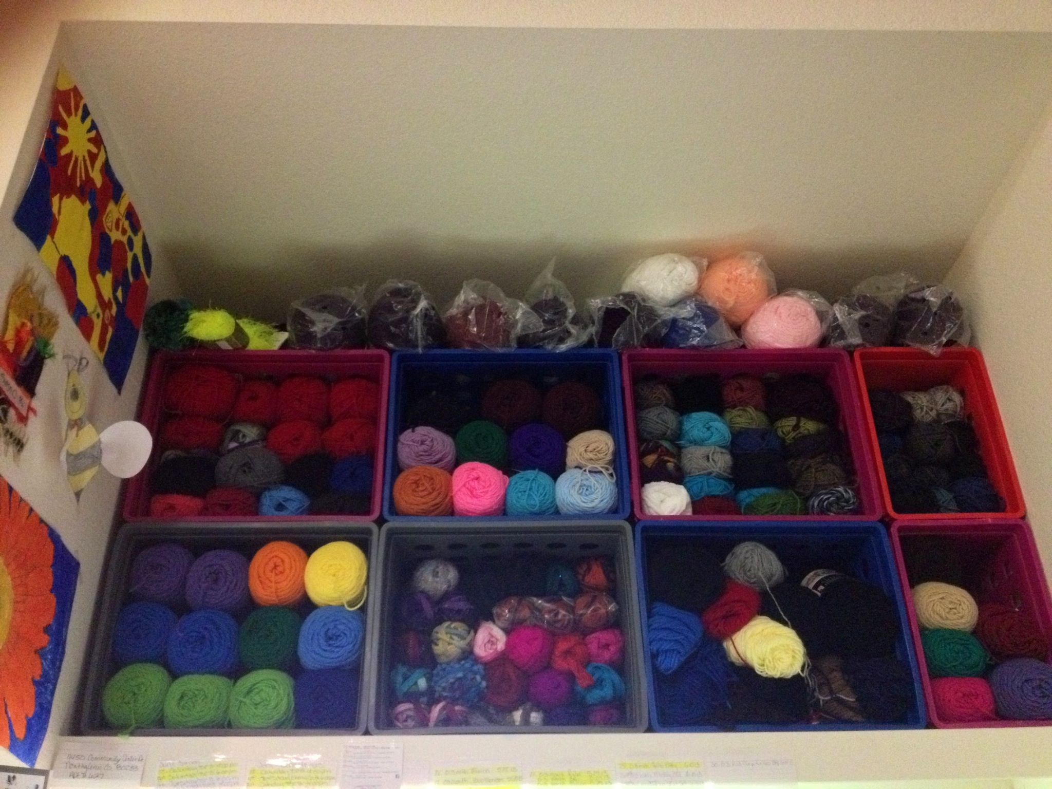 This Is How I Organize My Yarn )