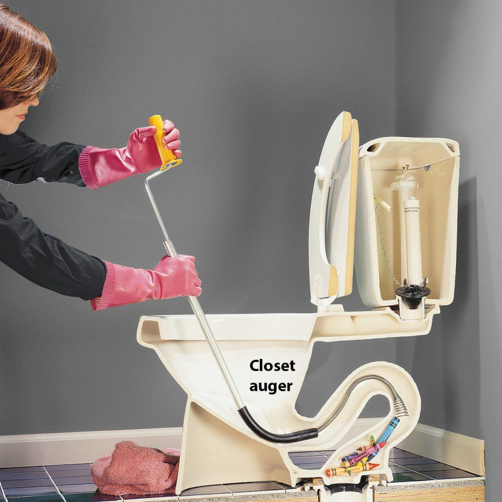 How To Unclog A Toilet Clogged Toilet Toilet Repair Toilet