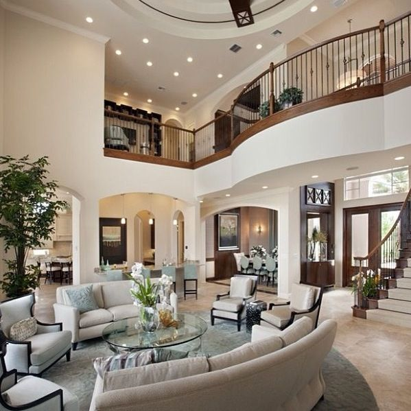 Pin By Alaina On Dream House Mansion Living Mansion Living Room