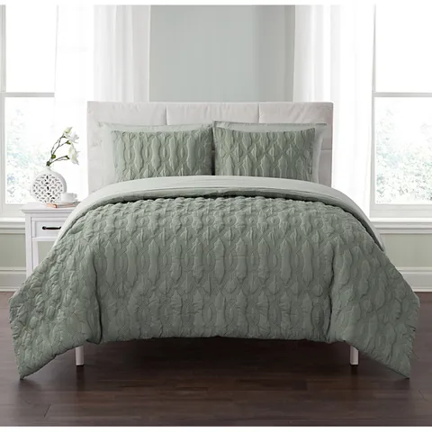 Pin by Maribel Johnson on Catie Bed, Green bedding, Cool