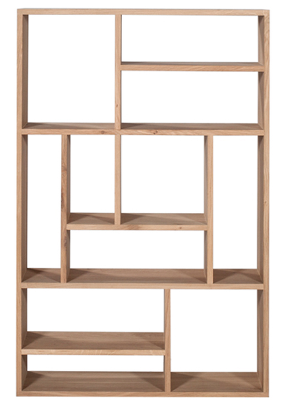 Ethnicraft Oak M Rack Display Unit Small Small Bookcase Bookcase Shelves
