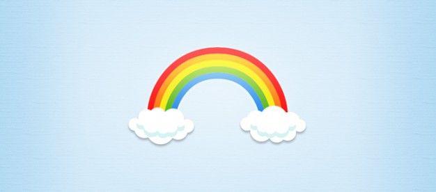 Resultado de imagen para arcoiris dibujo