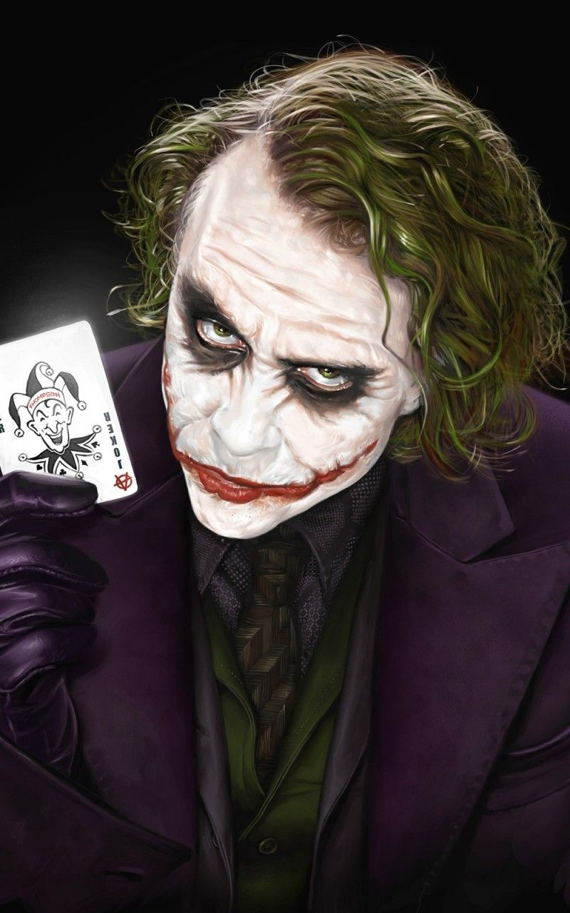 Download 800x1280 Joker Heath Ledger Wallpapers For Galaxy Note