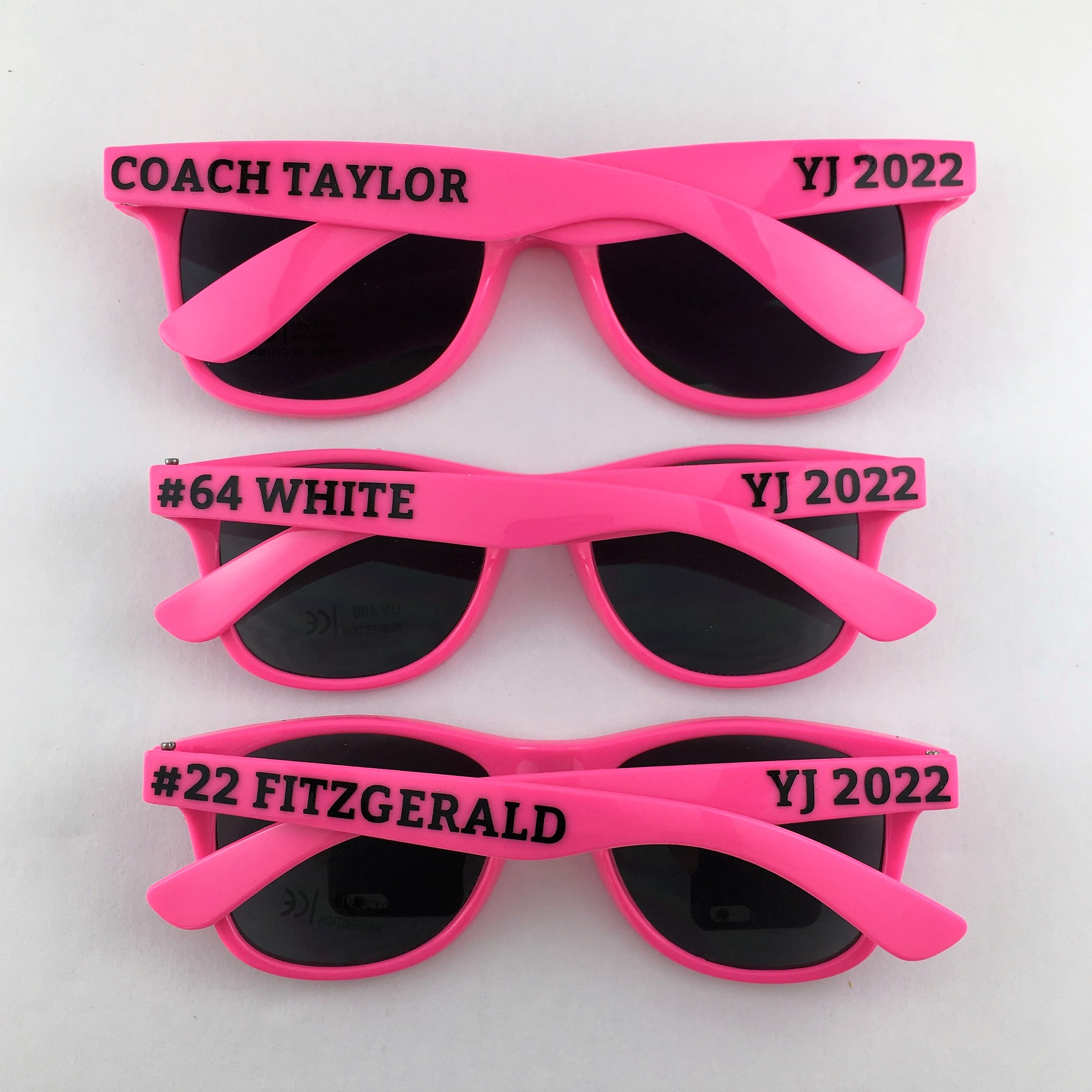 Personalized Sunglasses, Wedding Favors, Bachelorette Gifts ...