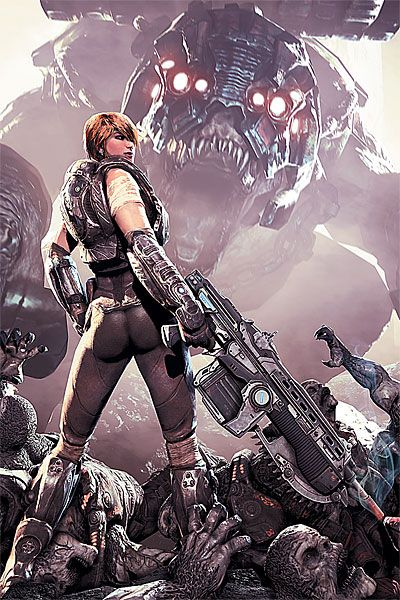 Gears Of War 3 To Be Released On 20th September 2011 Gears Of War Gears Of War 3 Gears