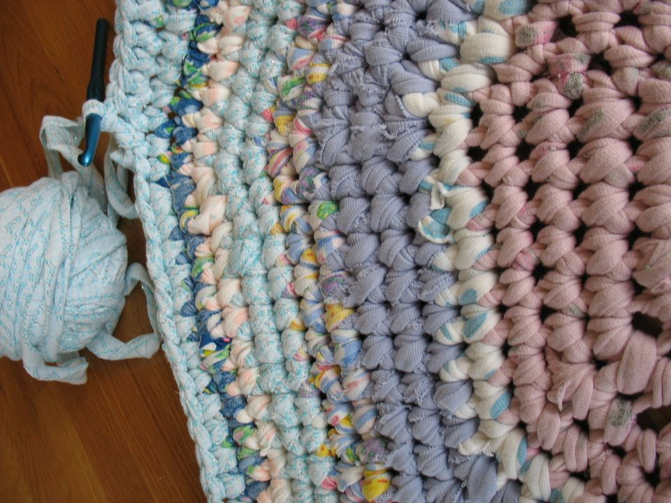 Rag Rugs Repurpose Old Textiles With These Free Crochet Patterns