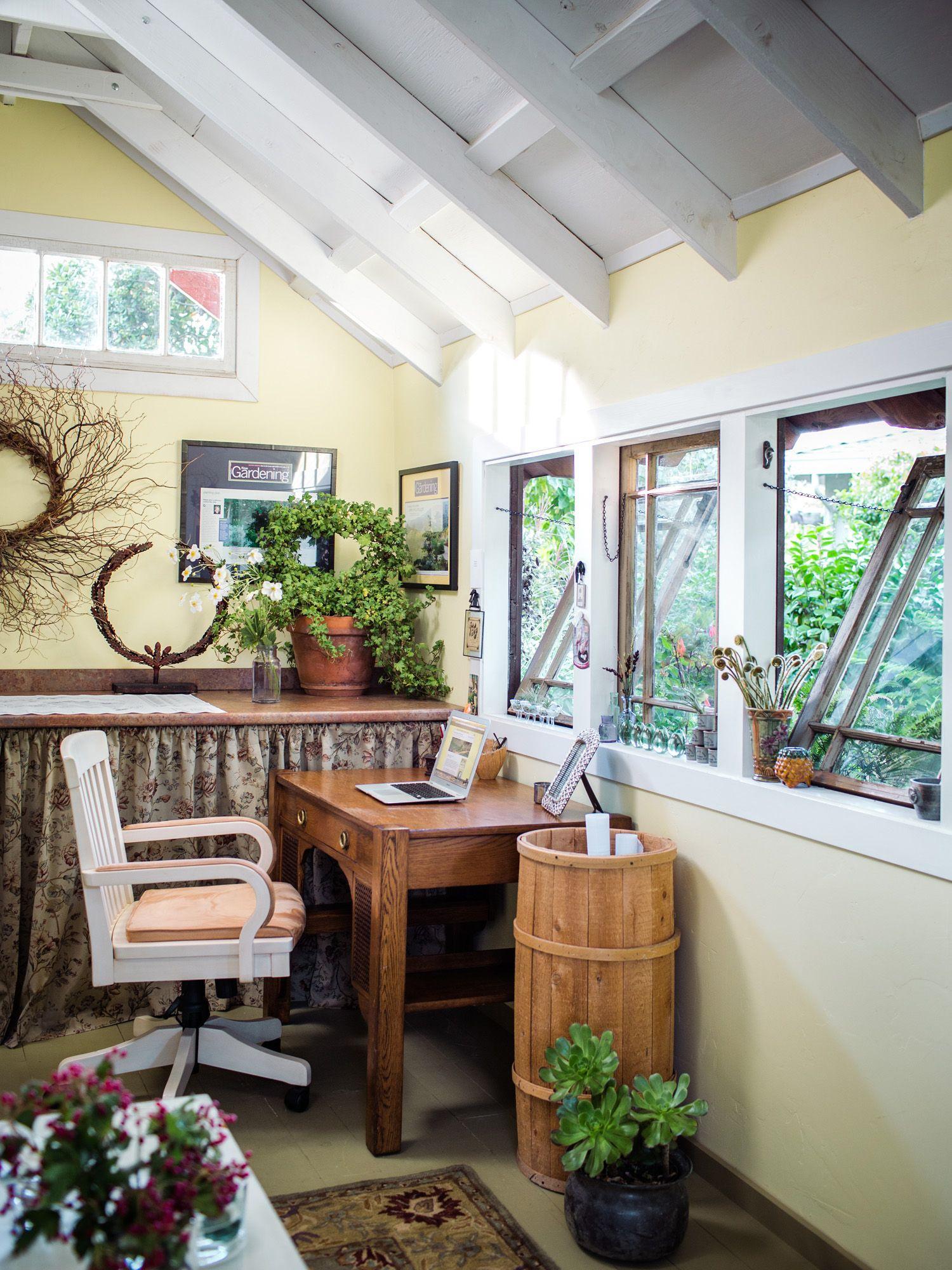 Garden Shed Makeover | Shed makeover, Shed interior ...