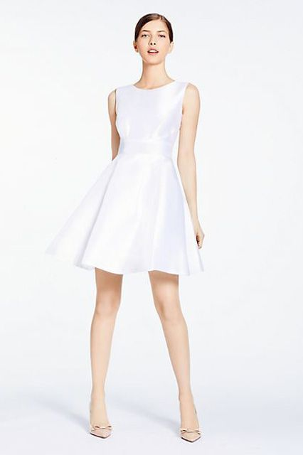 30 Gorgeous Under 500 Dresses For The Unconventional Bride White Bridesmaid Dresses Short Bridesmaid Dresses Bridesmaid Dresses Uk