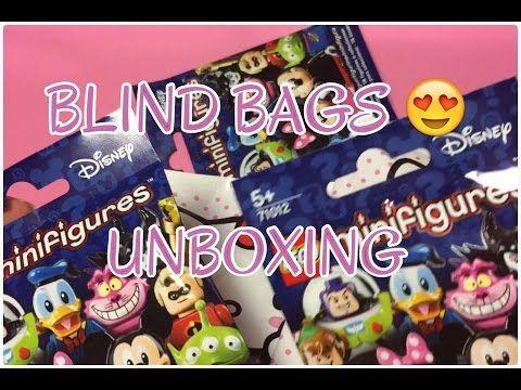 UNBOXING BLIND BAGS HELLO KITTY GIRAMONDO E LEGO MINI FIGURES DISNEY