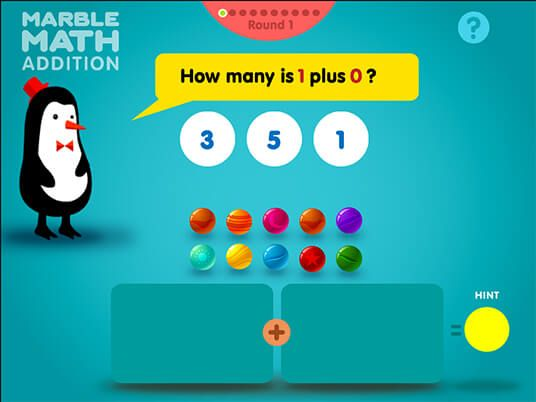Create Number Sentences With The Marbles To Match The Numbers That