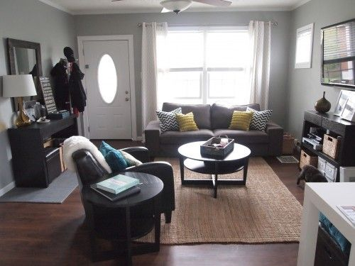 Ideas for front room layout living room setup living - Small apartment living room furniture ...
