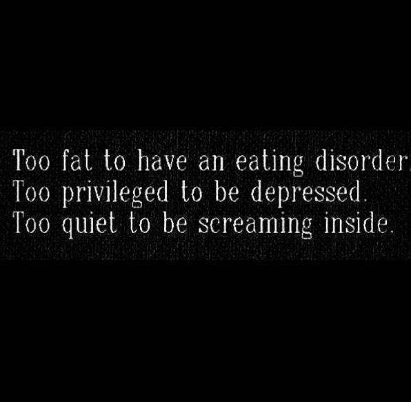 Sad Quotes About Depression: Best 25+ Sad Fat Quotes Ideas On Pinterest