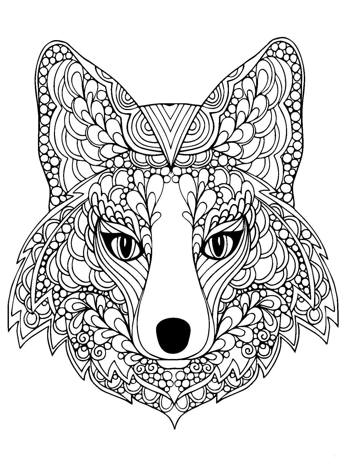 Wolf Malvorlagen Gratis