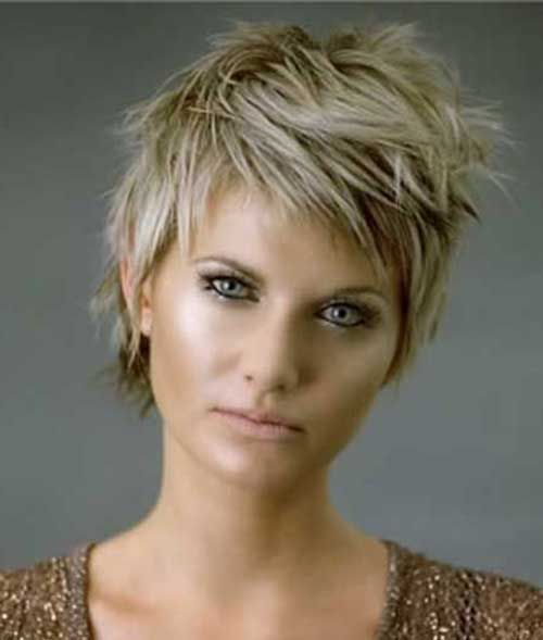Different Short Spiky Haircuts For Stylish Ladies In 2018 Hair
