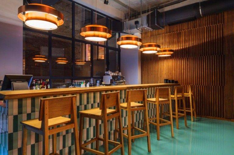 Mid Century Modern Bar Design