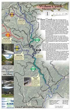 Wilson Creek Fishing Map, Edgemont, North Carolina: Chris