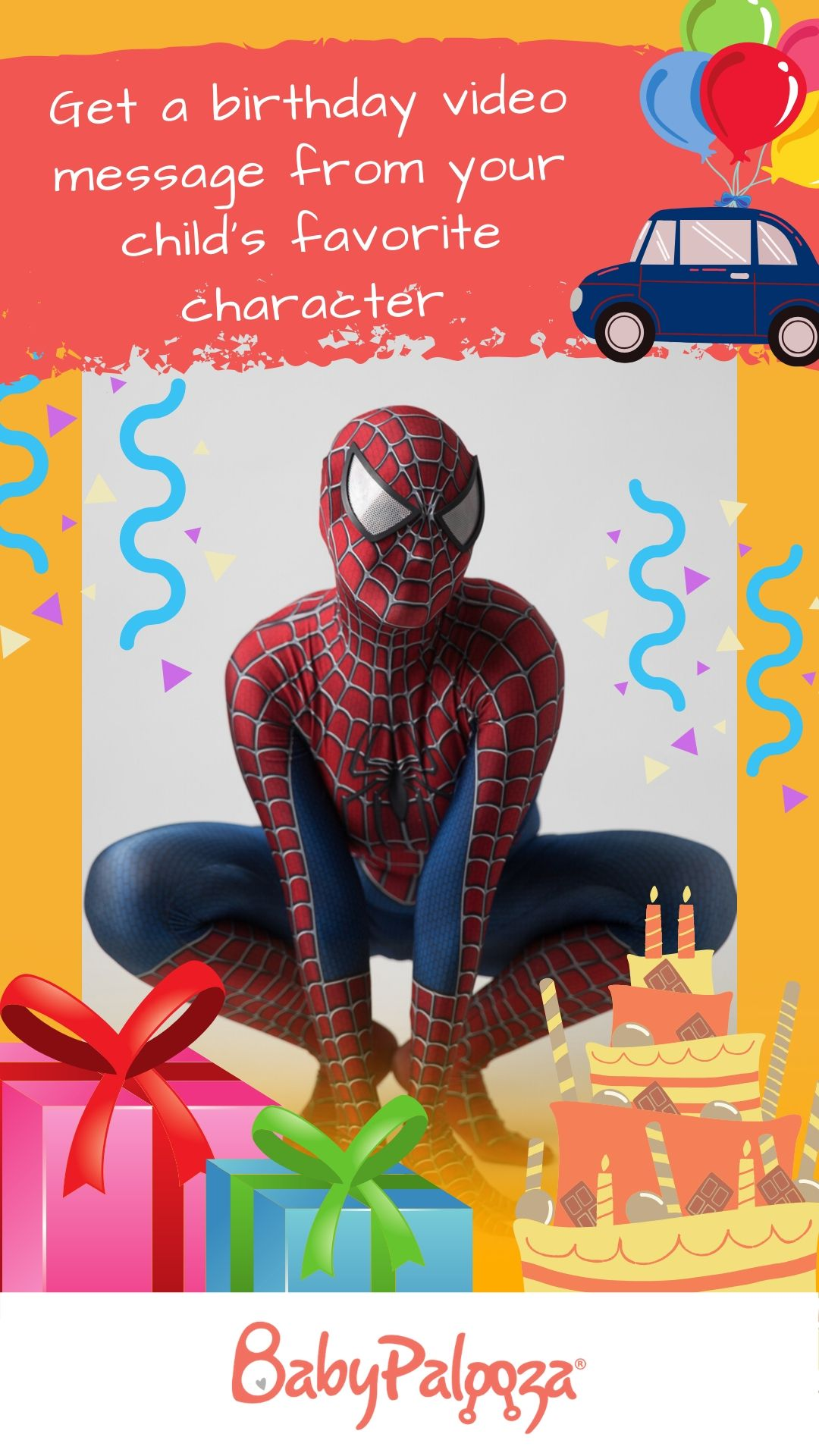Get a Happy Birthday Wish from Your Favorite Character in