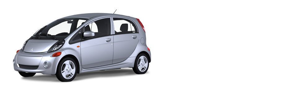 Mitsubishi i-MiEV. Starting at 32,998 CAD. 2 levels of home charging. Standard 120V takes approximately 22 hours. This is reduced to approximately 7 hours if you have their 240V charging system installed at your home. Public DC quick charging will give you 80% charge in 30 minutes when they are available. Range up to 155km (96 miles). Top speed of 130km (80 mph). Seems to be a great option for a commuter or second car.