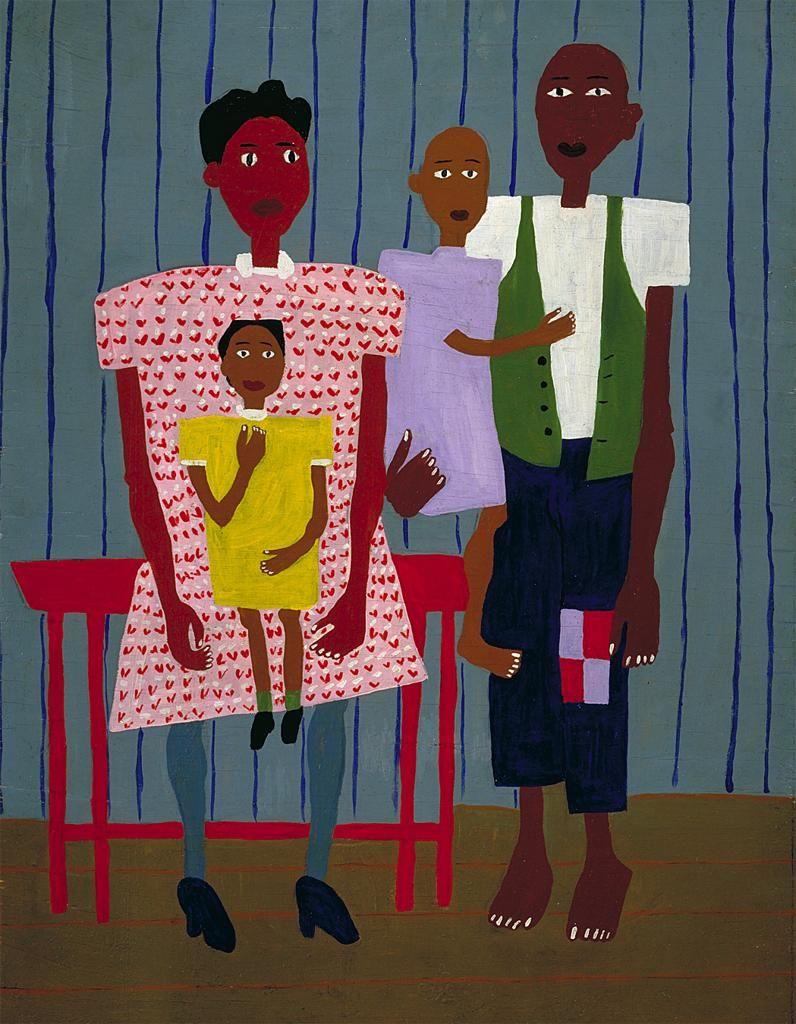 Folk Family William H. Johnson ca. 1944