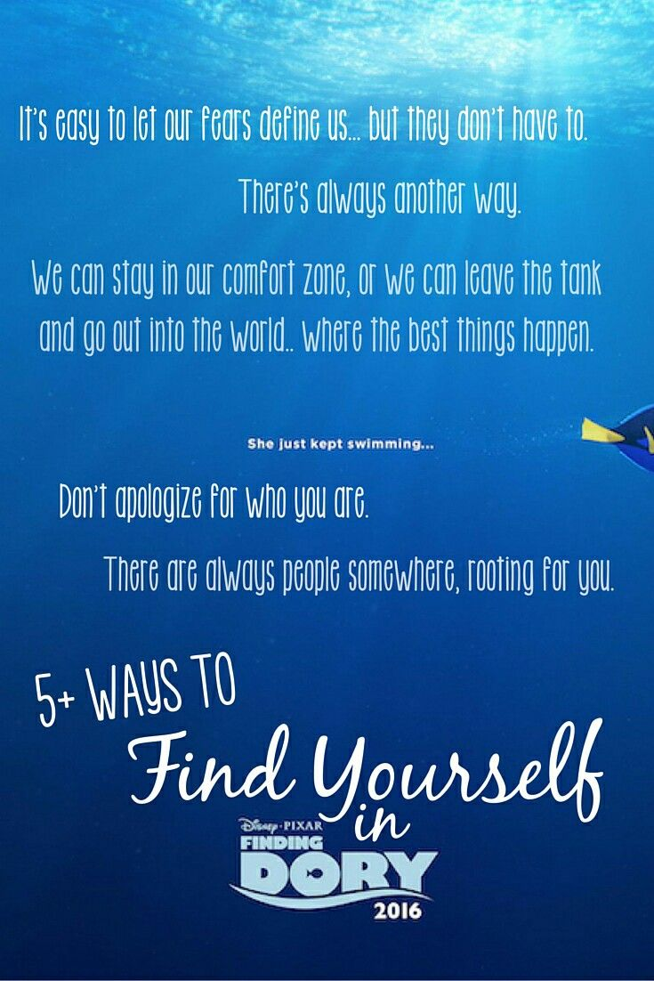 Dory Quotes Dory Quotes  Motivation  Pinterest  Dory Quotes And Quotes
