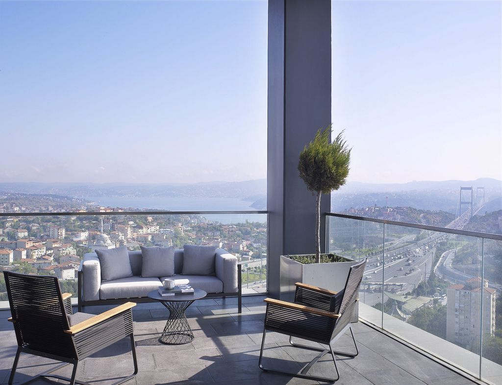 ✿ ❤ İstanbul İstanbull!! Le Méridien Istanbul Etiler—Presidential Suite Terrace with Bosphrous view | by LeMeridien Hotels and Resorts