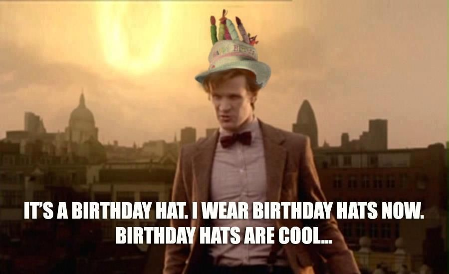 Happy Birthday Doctor Who Thank You Alyssa This Is