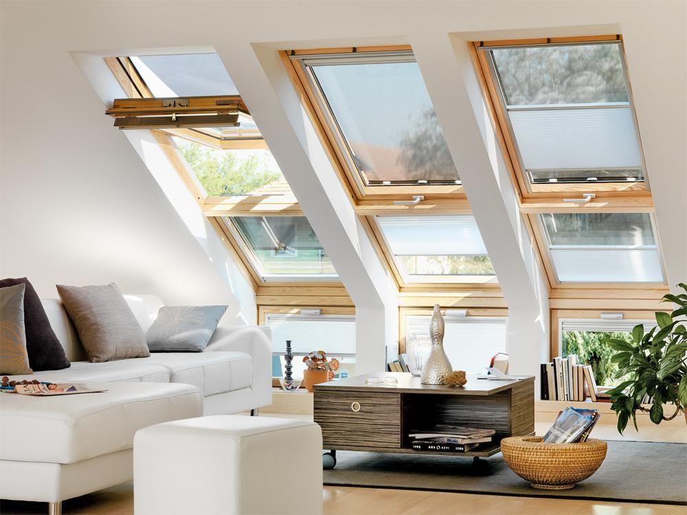 So gestalten Sie Räume unterm Dach | Dachfenster ...