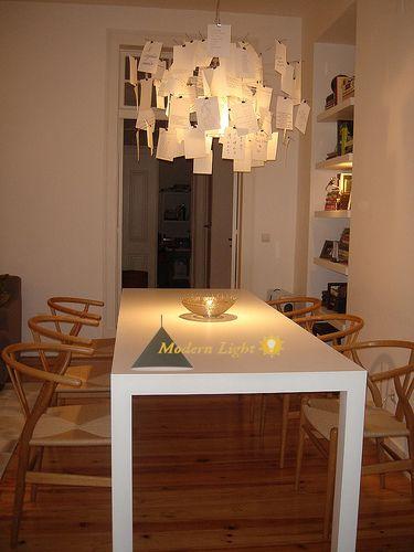 zettel 39 z 5 designer paper hanging ceiling light pendant. Black Bedroom Furniture Sets. Home Design Ideas