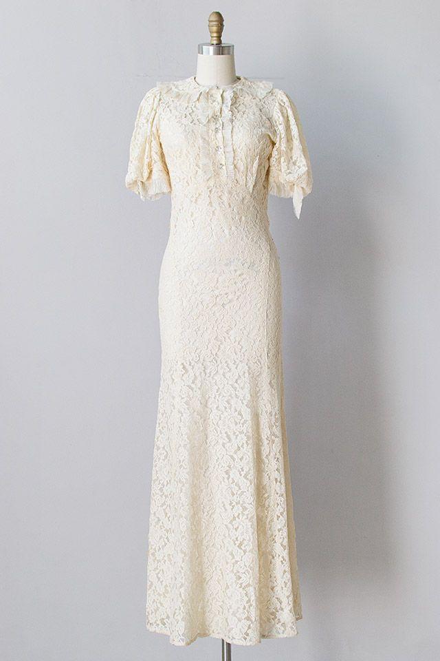 Vicomtesse de Noailles Dress   vintage 1930s wedding dress #vintage ...