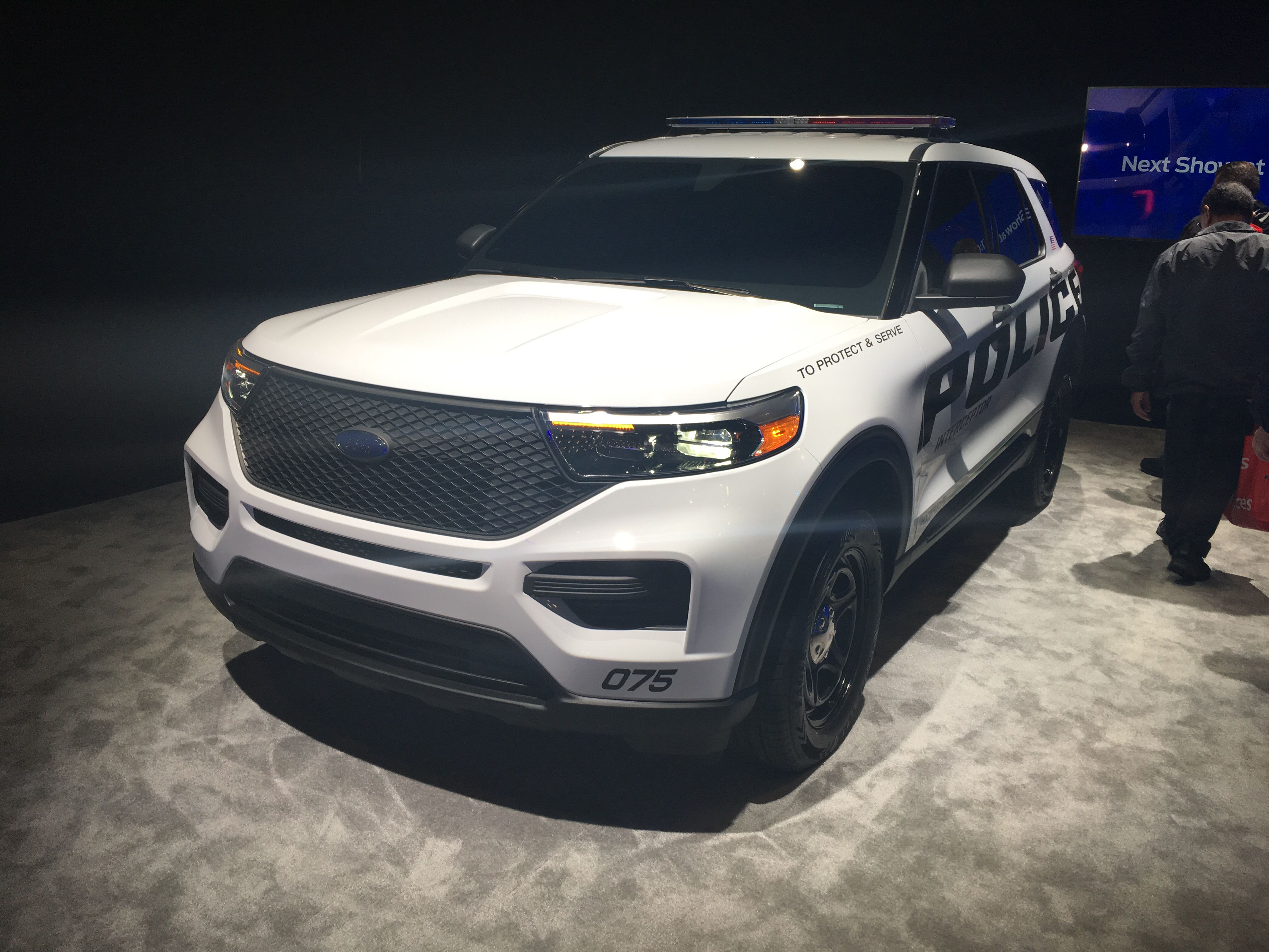 2020 Ford Explorer Police Interceptor Hybrid 2020 Ford Explorer