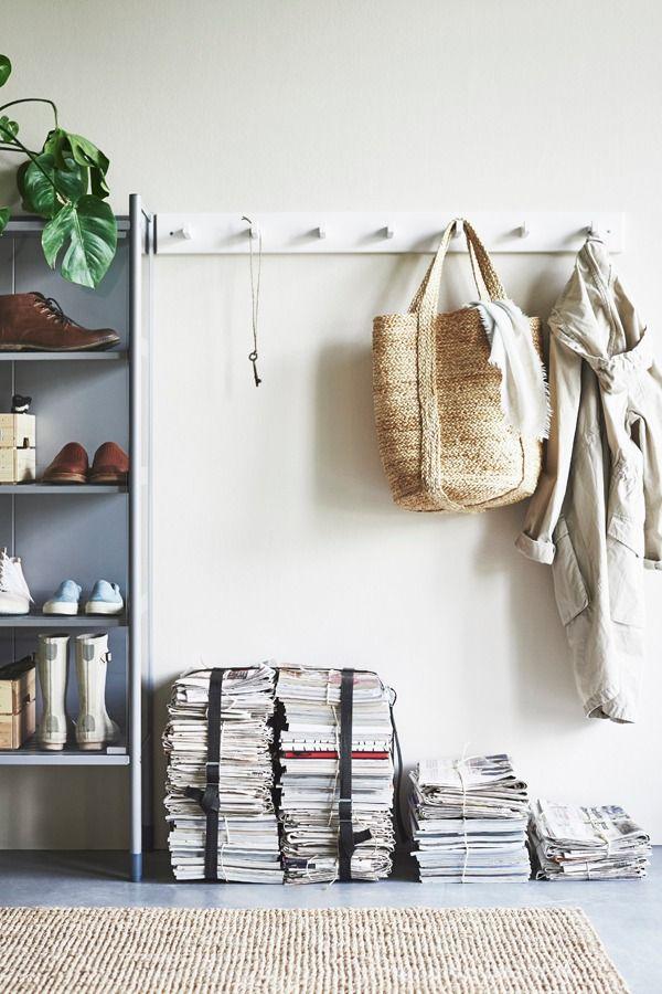 A coat rack like the IKEA