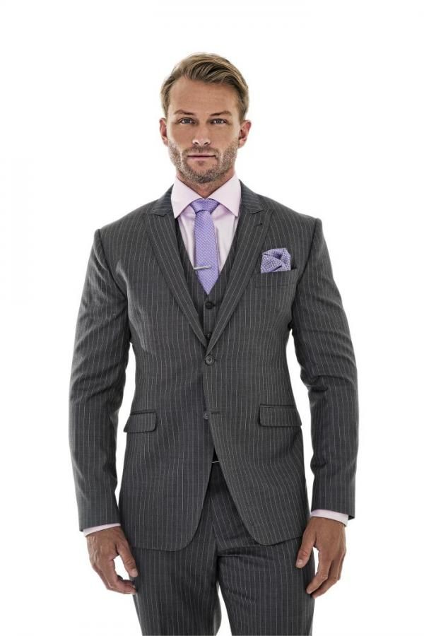 Men in two piece suits look dressy; those in three piece suits look elegant. Here's our argument for the three-piece suit's advantages.